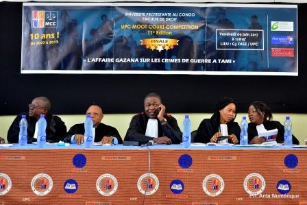 les juges du procès fictif